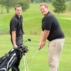 Sam, left, and Ben Phillips, brothers who have set up Golf Days UK, a golfing and travel business ai