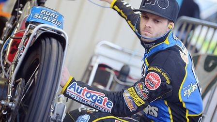 Rory Schlein will miss tonight's trip to Wolves. Picture: Matthew Usher.