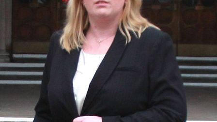 Joanne Doy at a previous compensation hearing Picture by Nevile Ayling