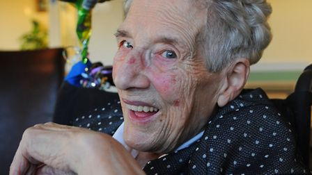 Hilda Brooks, former Costessey Parish councillor and district councillor. Picture: Denise Bradley