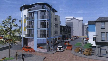 The latest Pier Head plan, which councillors will consider on Tuesday.