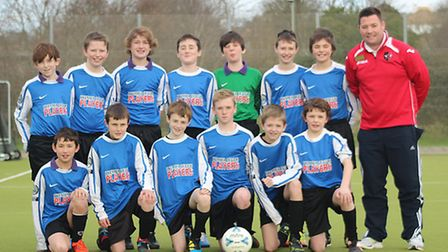 ref exe Kit donation - Former pupil and now Premiership footballer David Fox has donated some footba