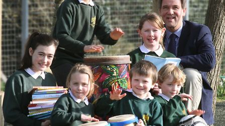 Staff and children at Woodbury C of E Primary School are celebrating their OFSTED success this week.