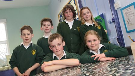 Year six students at Drakes primary school are celebrating the opening of their refurbished classroo