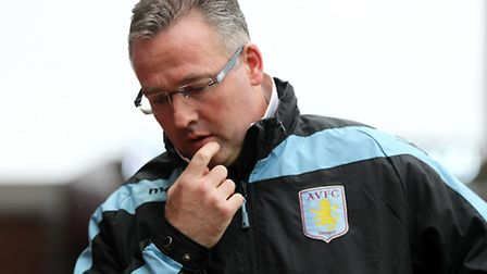 Aston Villa manager Paul Lambert, who will return to Carrow Road on Saturday to face the team he too