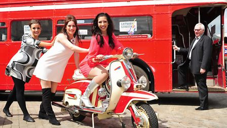 New stage production 'Carnaby Street' is set to come to Lowestoft Marina Theatre in May.Dancers perf