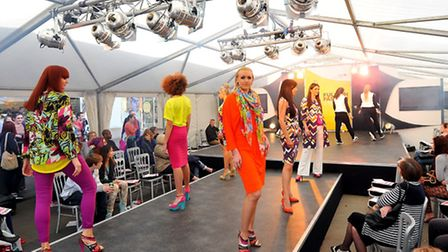 Full On Fashion show at Chapelfield at the weekend. House of Fraser. Photo: Bill Smith