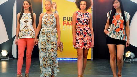 Full On Fashion show at Chapelfield at the weekend. Oasis. Photo: Bill Smith