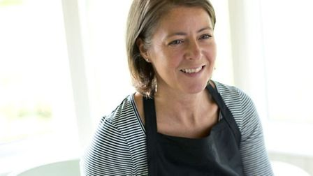 Businesswoman Kate Finch, who grew up in Burgh St Peter, near Beccles. Her Junior's Pantry range of
