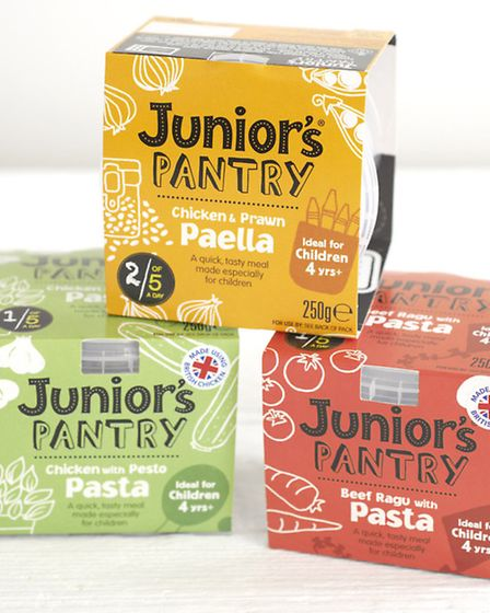 The Junior's Pantry Range produced by Kate Finch, who grew up in Burgh St Peter, near Beccles. The r