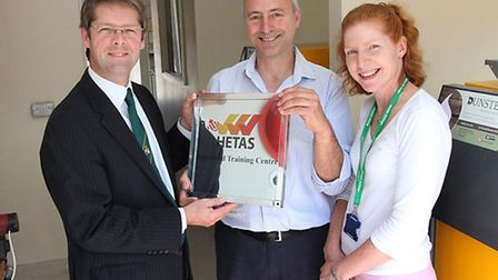 The launch of the Bicton Earth Hetas Biomass Training Centre took place this week and Bicton princip
