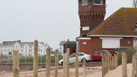 The Exmouth Coastwatch tower. Photo by Simon Horn. Ref exe 4913-11-12SH To order your copy of this p