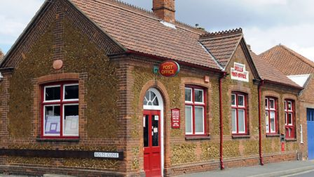 The Post Office in Wells-Next-the-Sea. Picture: Matthew Usher.
