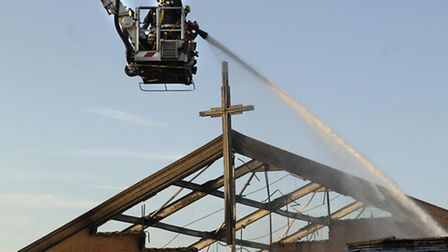 Flashback to when firefighters fought the blaze at the Mount Zion Family Life Church in 2006.