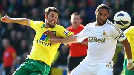 Norwich City boss Chris Hughton has been impressed by the way Wes Hoolahan can spark a game into lif