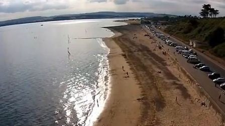 The view from Jacob Collinson's quadcopter.