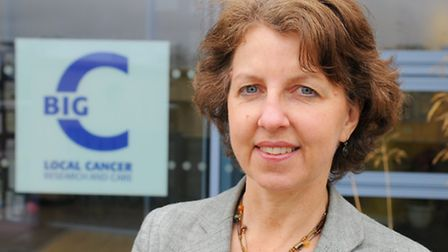 Jill Chapman, Big C Centre manager at the Norfolk and Norwich University Hospital.