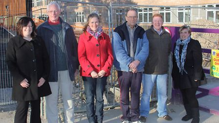 Members of Friends of Thetford Academy.