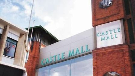 Proposed Castle Mall revamp.
