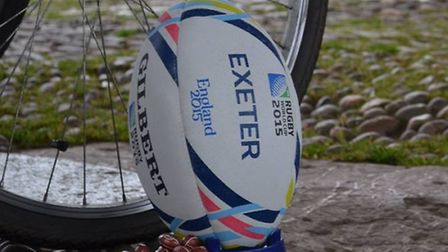 A rugby themed easter egg trail is taking place along the Exe Estuary
