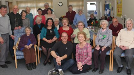 A party to celebrate the life of Welcome Centre regular Roy McCrohan was held this week. Pictured ar