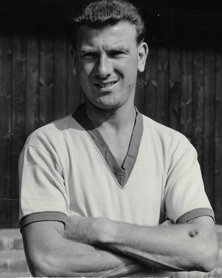 Roy McCrohan, pictured during his football career at Norwich City.