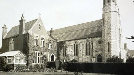 A brand new Holy Ghost Church in 1915