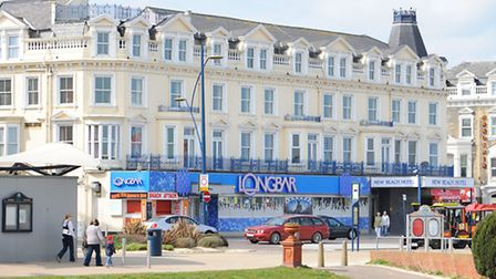 The New Beach Hotel and Long Bar on Marine Parade, Great Yarmouth.Picture: James Bass