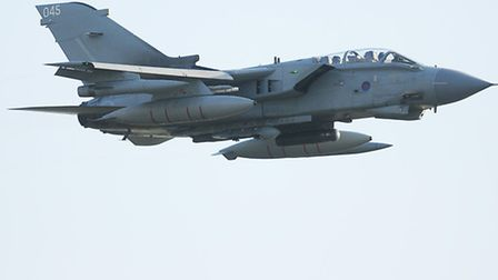 Was a jet, like this Tornado, responsible for a 'sonic boom' which has been heard over Norfolk tonight