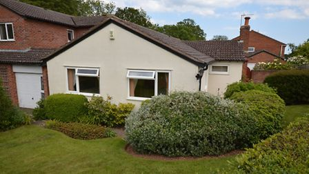 Being sold via Bradleys estate agents and priced at £222,500 the property at Hollymount Close, Exmou