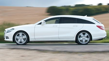 Mercedes-Benz CLS Shooting Brake is a handsome and elegant load-carrying version of the CLS Coupe sa