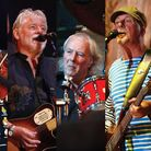 Fairport Convention who headlined the finale of the Folk on teh Pier weekend at Cromer Pier