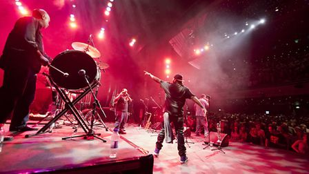 The Soul Rebels performed at Norwich Theatre Royal for the Norfolk and Norwich Festival. Photo: Dave