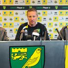 Norwich City youth team manager Neil Adams fields questions from the Press ahead of tonight's Cup cl