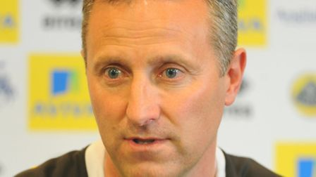 Norwich City Under-18s manager Neil Adams is prepared for tonight's final. Picture: Denise Bradley