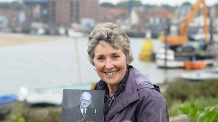 Sue Wild has written a book on Sam Peel who was well known in Wells. Picture: Ian Burt