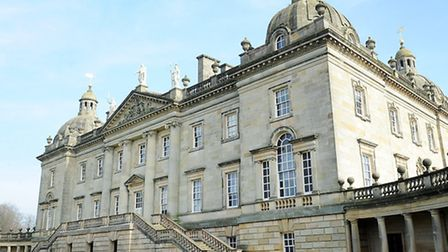 The outside of Houghton Hall, where the zumbathon is being staged. Picture: Matthew Usher.
