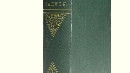 The rare Charles Darwin book, once onwed by Norfolk MP Sir Thomas Fowell Buxton, which sold for £136