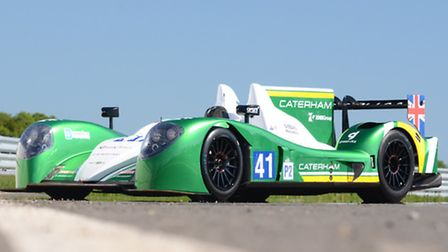 Higham-based Caterham's entry into the 2013 Le Mans 24 Hour race.