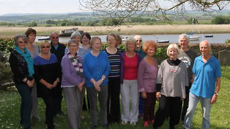 The Singing for Fun group meet in the hall alongside St Margarets church in Topsham every Tuesday 11