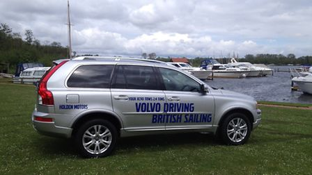 Holden Motors sponsored Norfolk Broads Yacht Club's 75th anniversary which was in keeping with Volvo