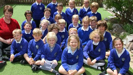 Beacon Primary School are celebrating after being judged outstanding by inspectors from the Diocese