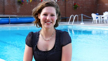 Victoria Ormerod will next month swim 15K and run 10k as she makes her way between and across each o