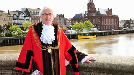 John Burroughs is the new Great Yarmouth Mayor for 2013/14