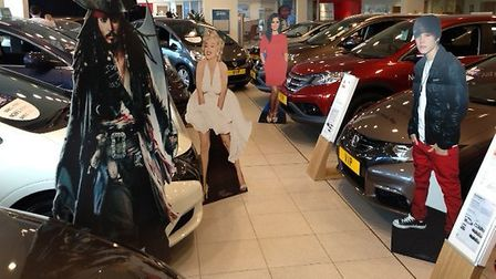 Stars and cars at the Holden Group's VIP sales event.