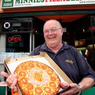 Mike McCullagh, owner of Minnies Pizza Deliveries and Eatery in Exmouth. Picture by Alex Walton. Ref