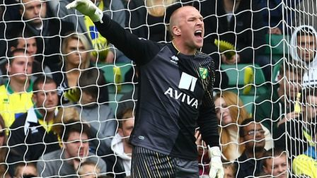 John Ruddy kept a clean sheet in his return to the first team. Picture: Paul Chesterton / Focus Imag
