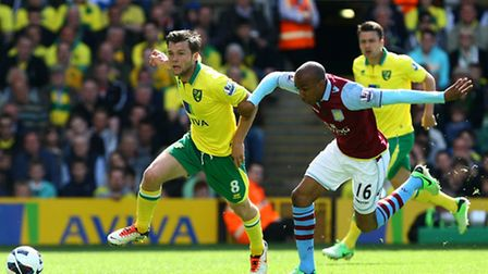 City's all-action midfielder Jonny Howson is one of the key men Chris Hughton can build his team aro