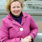 MEP Vicky Ford visits Lowestoft to find out about flood defence work. Vicky Ford on Lowestoft's Basc