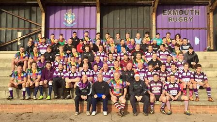 All the players who were involved in the annual Boxing Day match at the Imperial Ground.